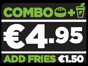 ABRA Burger Combo Price