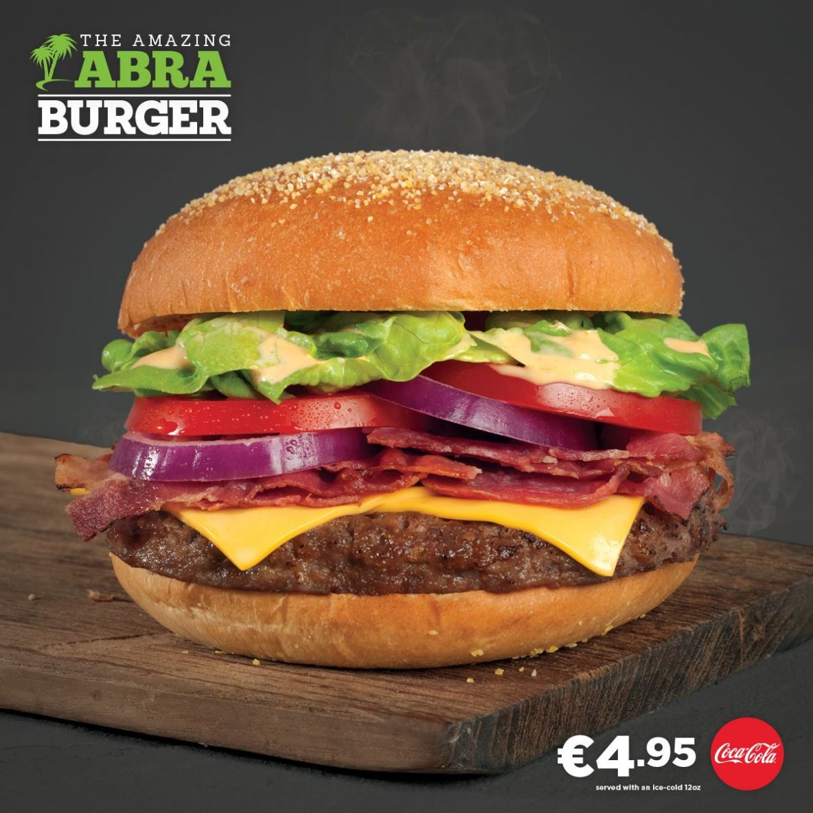 The Amazing ABRA Burger from Abrakebabra