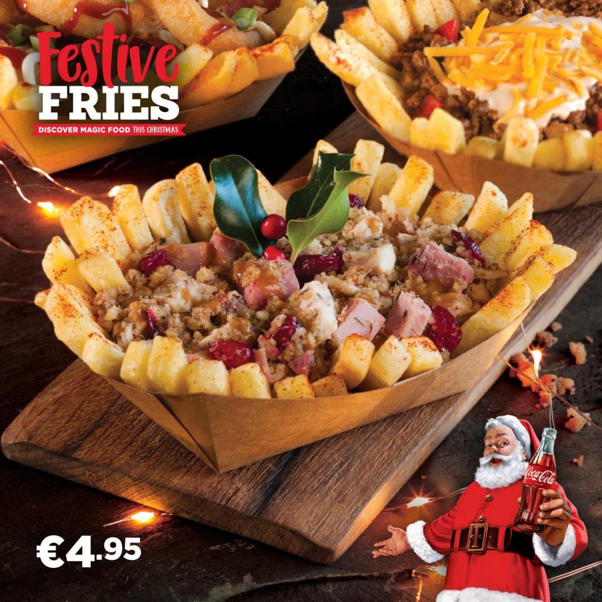 Abrakebabra Festive Loaded Fries