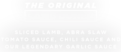 The Original Lamb Doner