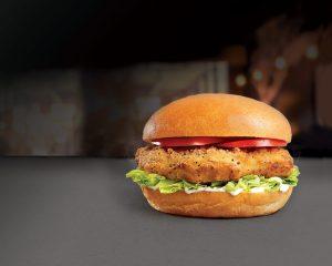 Abra Fried Chicken Burger at Abrakebabra